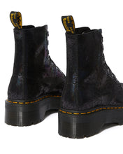 Load image into Gallery viewer, MOLLY METALLIC LEATHER PLATFORM BOOTS (blk)
