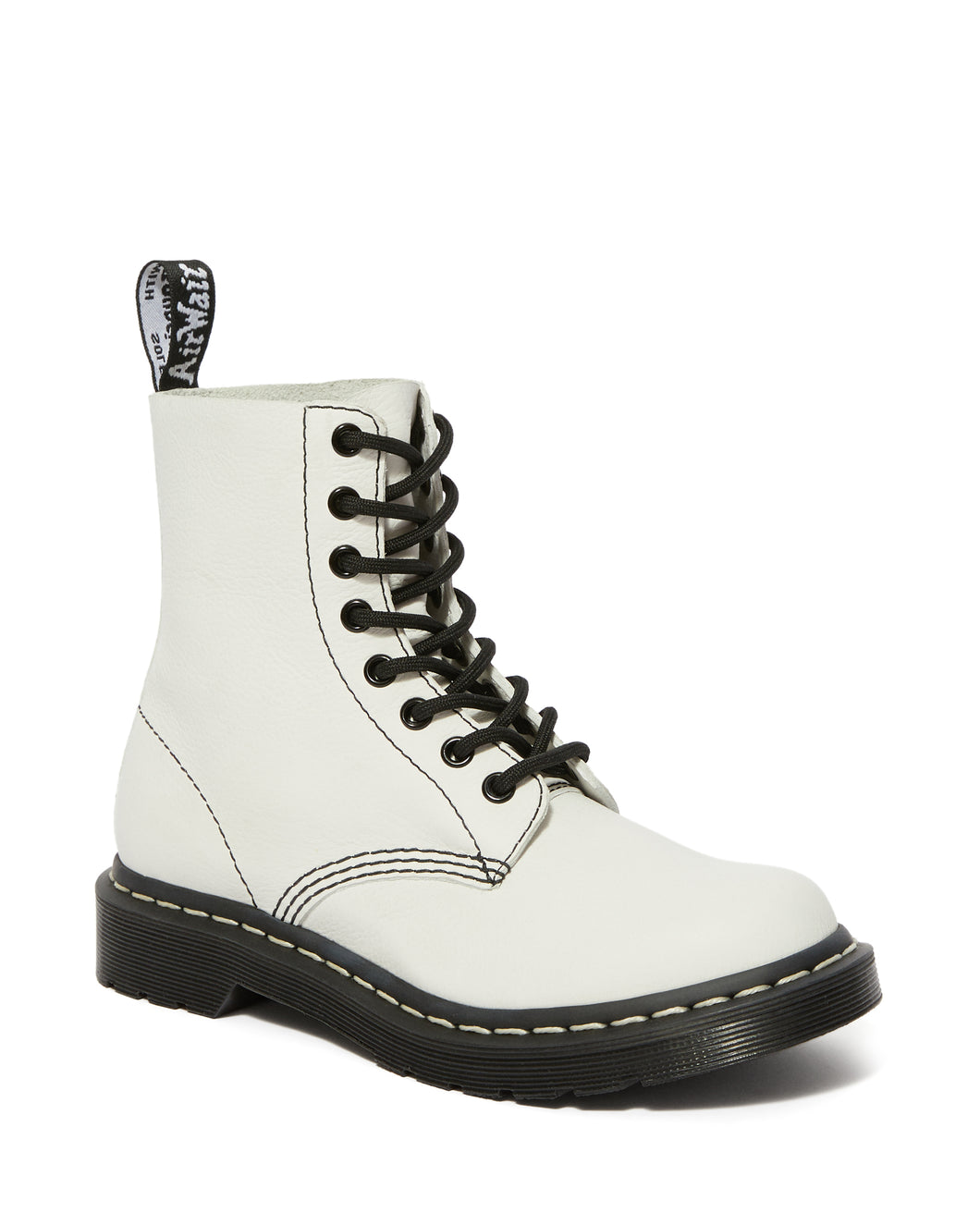 1460 Pascal Virginia B&W UP Boots (optical white)