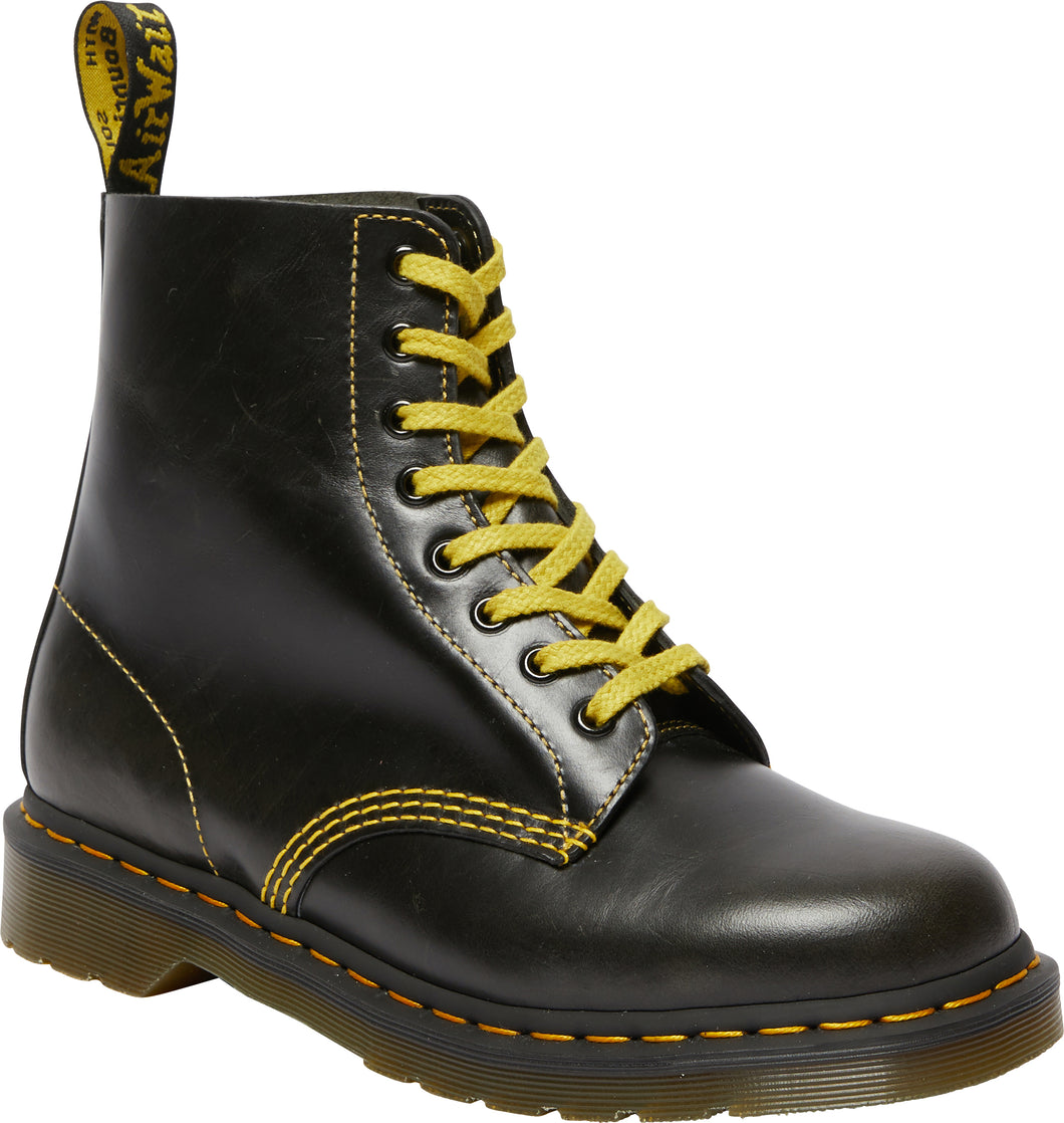1460 PASCAL ATLAS LEATHER LACE UP BOOTS (drk grey)