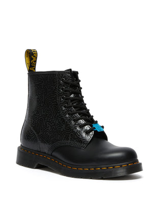 1460 Keith Haring Leather Boots