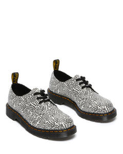 1461 Keith Haring Oxford Shoes (black & white)