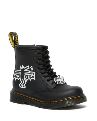 Keith Haring childrens boots by Dr Martens