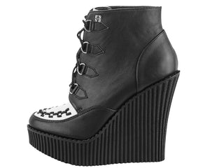 Creeper Wedge Booties