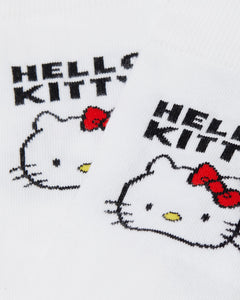 Hello Kitty Bow Socks (white)