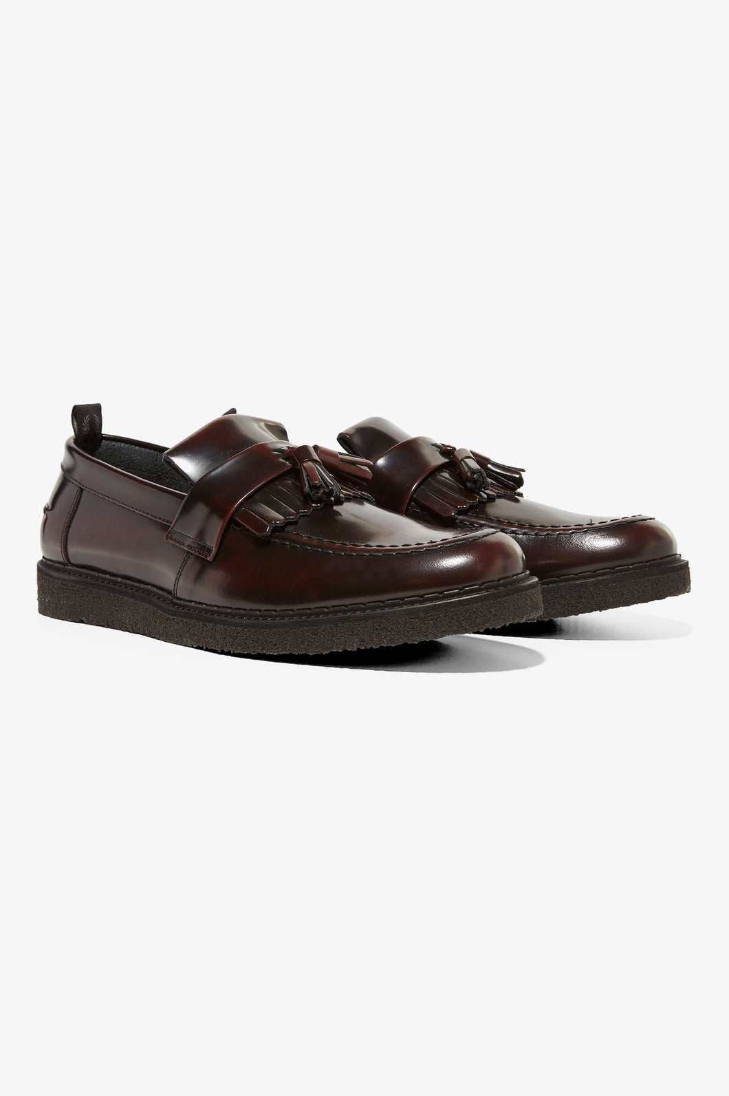 George Cox Tassel Loafer (ox blood)