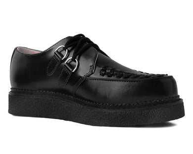 Black Leather 1970 Original Creeper
