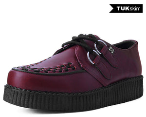Cherry Red TUKskin™ Vegan Viva ll Low Creeper