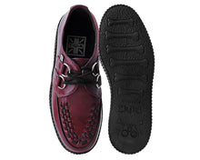 Load image into Gallery viewer, Cherry Red TUKskin™ Vegan Viva ll Low Creeper