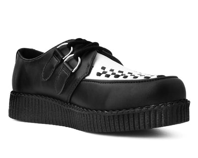 Black & White Vegan TUKskin™ VIva ll Creeper