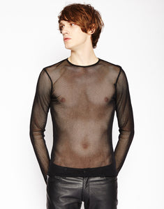LONG SLEEVE FISHNET