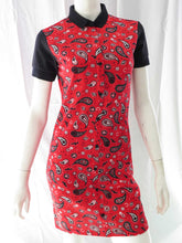 Load image into Gallery viewer, Amy Winehouse Shirt Dress (red)