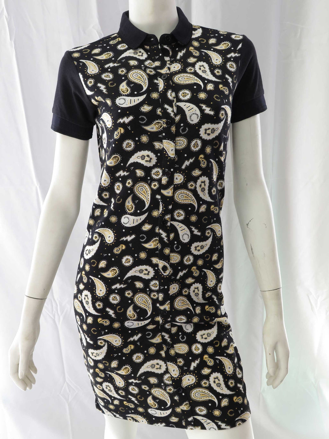 Amy Winehouse Shirt Dress (blk)
