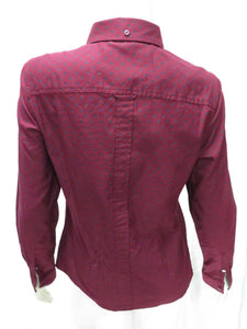 Button-Down L/S Shirt (tawny port)