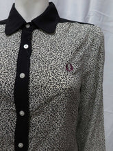 Load image into Gallery viewer, Leopard Print L/S Shirt (ivory)