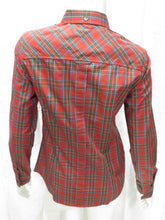 Load image into Gallery viewer, L/S Tartan Shirt (red)