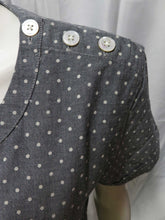 Load image into Gallery viewer, Polka Dot Shirt (pavement)