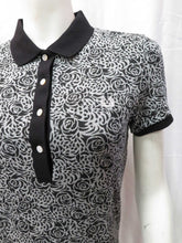 Load image into Gallery viewer, Rose Leopard Print Shirt (blk)