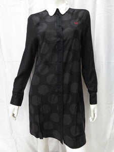 Double Dot Shirt Dress