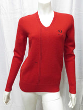 Load image into Gallery viewer, V-Neck Jumper (samba red)