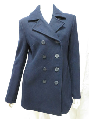 Wool Peacoat (blue granite)