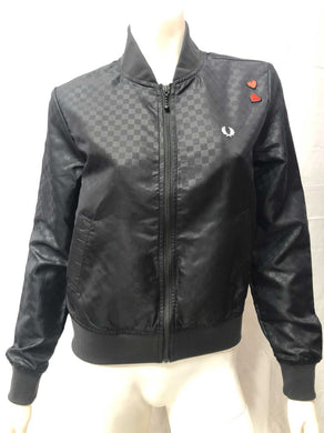 Amy Winehouse Checkerboard Bomber Jacket
