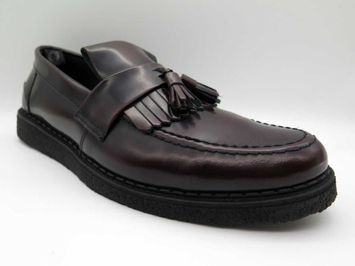 OXBLOOD TASSEL LOAFER