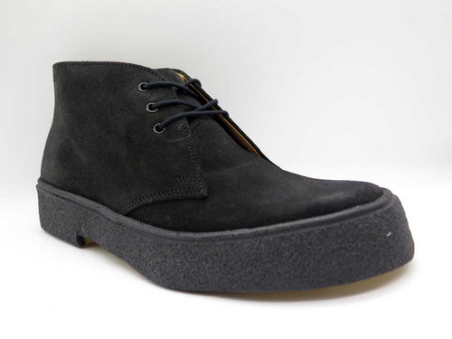 BLACK SUEDE CHUKKA BOOT