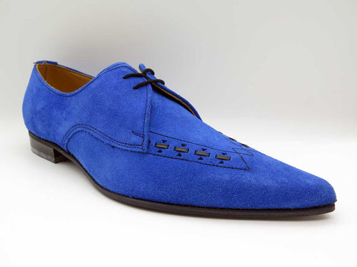 BLUE SUEDE TWO TIE GIBSON