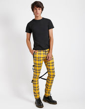 Load image into Gallery viewer, PLAID CHAOS PANT (yellow)
