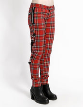 Load image into Gallery viewer, PLAID CHAOS PANT (red)