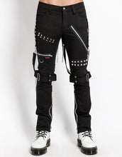 Load image into Gallery viewer, STUDDED BONDAGE PANT