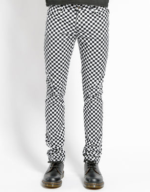 CHECKERBOARD ROCKER JEAN