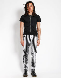 MEDIUM STRIPE ROCKER JEAN