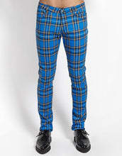 Load image into Gallery viewer, ROYAL PLAID ROCKER JEAN