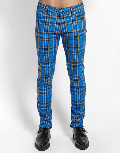 ROYAL PLAID ROCKER JEAN