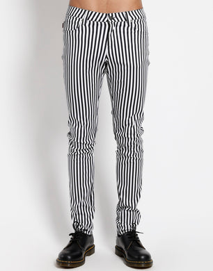 NARROW STRIPE ROCKER JEAN