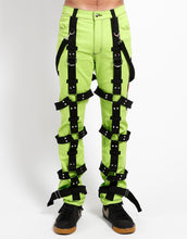 Load image into Gallery viewer, THE HARNESS PANT (lime)