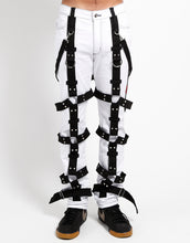 Load image into Gallery viewer, THE HARNESS PANT (wht)