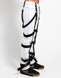THE HARNESS PANT (wht)