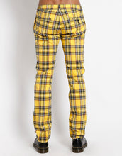 Load image into Gallery viewer, YELLOW PLAID TOP CAT PANT