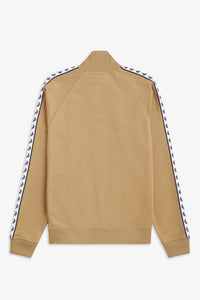 Taped Track Jacket (warm stone)