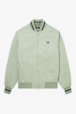 Tennis Bomber Jacket (light sage)