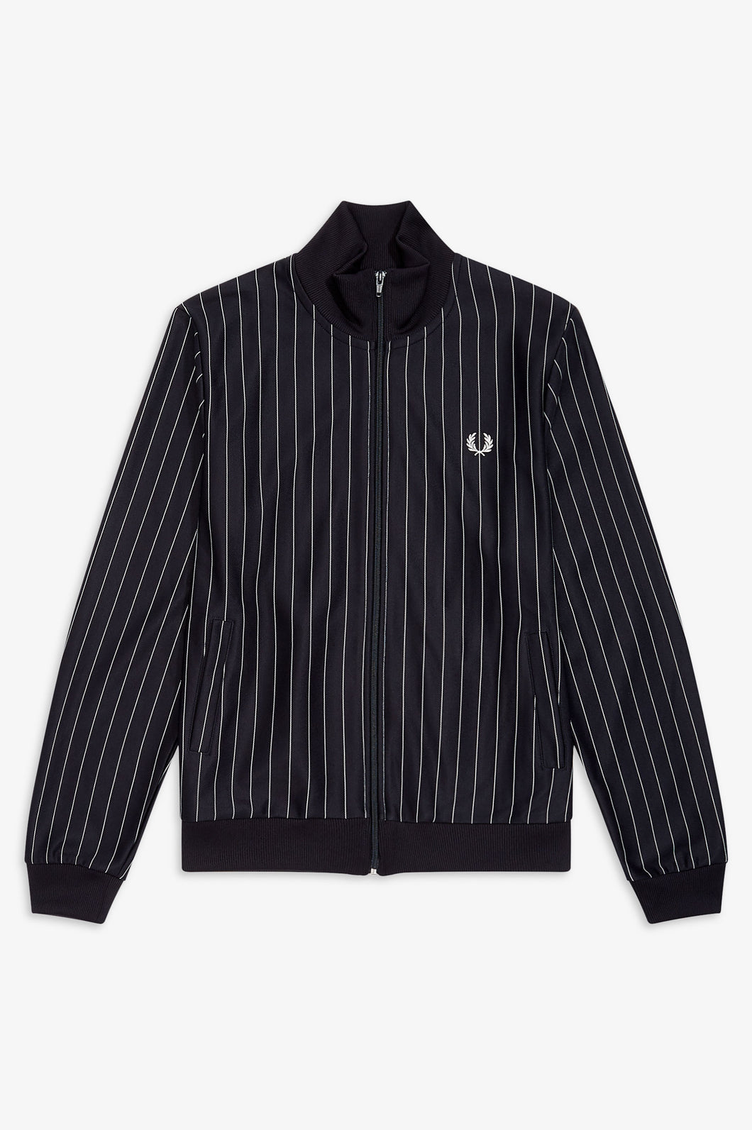 Pin Stripe Track Jacket