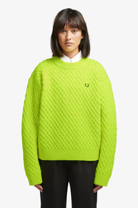 Textured Jumper (bic yellow)