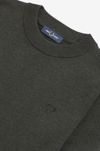 Broken Tipped Crew Neck Jumper