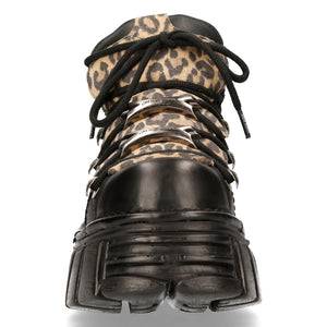 TOWER (blk & leopard)