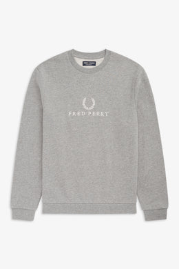 Embroidered Sweatshirt (grey)