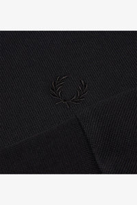 Fleeceback Polo Shirt (black)