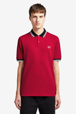 Color Block Polo Shirt (siren)