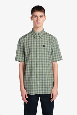 Button Down Shirt (light sage)